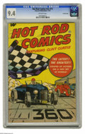 Golden Age (1938-1955):Miscellaneous, Hot Rod Comics #nn (#1) Crowley Copy pedigree (Fawcett, 1951) CGC NM 9.4 Off-white pages. Several publishers tried their han...