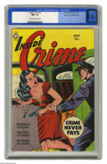 Golden Age (1938-1955):Crime, Inside Crime #3 Mile High pedigree (Fox, 1950) CGC NM- 9.2 Off-white to white pages. An L.B. Cole cover and Wally Wood inter...
