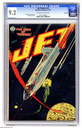 Golden Age (1938-1955):Science Fiction, Jet Powers #4 Bethlehem pedigree (Magazine Enterprises, 1951) CGCNM- 9.2 Off-white to white pages. The four issues of this ...