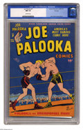 Golden Age (1938-1955):Adventure, Joe Palooka Comics #7 File Copy (Harvey, 1946) CGC NM 9.4 Off-white pages. Cover and art by Ham Fisher. Overstreet 2005 NM- ...