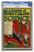 Golden Age (1938-1955):Non-Fiction, Marvels of Science #1 Crowley Copy pedigree (Charlton, 1946) CGCNM- 9.2 Cream to off-white pages. Charlton's foray into the...