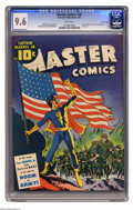 Golden Age (1938-1955):Superhero, Master Comics #30 San Francisco pedigree (Fawcett, 1942) CGC NM+ 9.6 White pages. Here is a worthy representative of the fam...