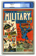 Golden Age (1938-1955):War, Military Comics #2 Rockford pedigree (Quality, 1941) CGC VF/NM 9.0Off-white pages. This is about as fine a copy as you can ...