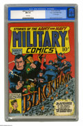 Golden Age (1938-1955):War, Military Comics #17 Mile High pedigree (Quality, 1943) CGC NM 9.4 White pages. While Will Eisner's name doesn't appear in th...