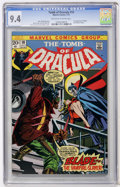 Bronze Age (1970-1979):Horror, Tomb of Dracula #10 (Marvel, 1973) CGC NM 9.4 Off-white to whitepages....
