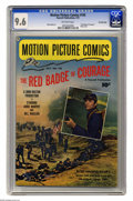 Golden Age (1938-1955):Miscellaneous, Motion Picture Comics #105 The Red Badge of Courage - Crowley Copy pedigree (Fawcett, 1951) CGC NM+ 9.6 Off-white pages. Thi...