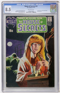 House of Secrets #92 (DC, 1971) CGC VF+ 8.5 Off-white pages