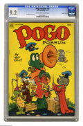 Golden Age (1938-1955):Funny Animal, Pogo Possum #10 Crowley Copy pedigree (Dell, 1952) CGC NM- 9.2Cream to off-white pages. Finding high-grade copies of Pogo...
