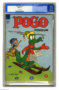 Golden Age (1938-1955):Funny Animal, Pogo Possum #15 (Dell, 1954) CGC NM 9.4 Off-white pages. Morehilarity featuring the denizens of Okefenokee Swamp, drawn by ...
