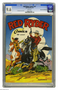 Red Ryder Comics #37 Mile High pedigree (Dell, 1946) CGC NM+ 9.6 White pages. If you were looking for a single issue of...