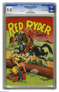 Red Ryder Comics #39 Mile High pedigree (Dell, 1946) CGC NM/MT 9.8 White pages. Whoa, partner! Even if Western comics ar...