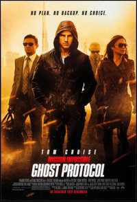 "Mission: Impossible - Ghost Protocol & Other Lot (Paramount, 2011). One Sheets (2) (27"" X 40"") DS Adva..."