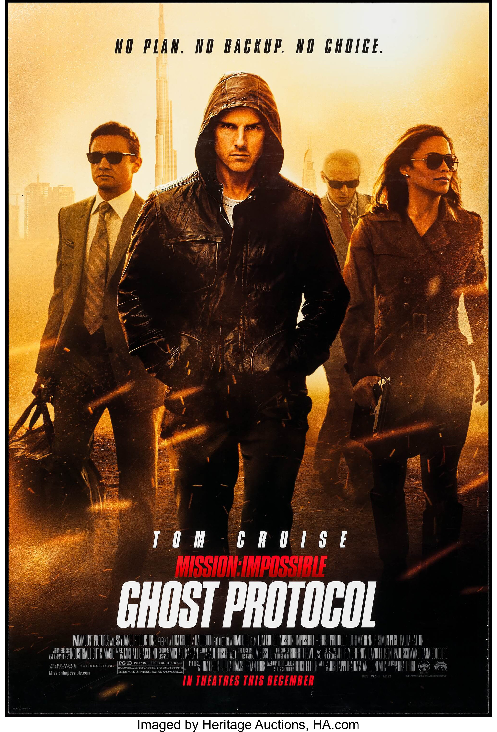 Mission Impossible Ghost Protocol Other Lot Paramount Lot