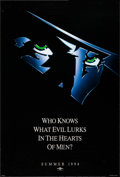 """Movie Posters:Adventure, The Shadow (Universal, 1994). One Sheet (26.75"""" X 39.75"""") SS Advance. Adventure.. ..."""