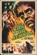 "Movie Posters:Horror, The Son of Dr. Jekyll (Columbia, 1951). One Sheet (27"" X 41"").Horror.. ..."