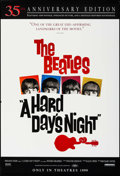 """Movie Posters:Rock and Roll, A Hard Day's Night (Miramax, R-1999). 35th Anniversary One Sheet(27"""" X 40"""") DS Advance. Rock and Roll.. ..."""