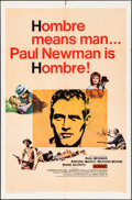 "Movie Posters:Western, Hombre (20th Century Fox, 1966). One Sheet (27"" X 41""). Western....."