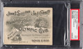 Boxing Collectibles:Memorabilia, 1892 John L. Sullivan vs. James Corbett Full Ticket, PSA Good 2.. ...