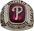 Baseball Collectibles:Others, 2008 Philadelphia Phillies World Series Championship Ring.. ...