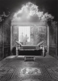 Photographs, Jerry Uelsmann (American, b. 1934). Untitled (Silhouettes and day bed), 1993. Gelatin silver. 19-3/8 x 14-1/4 inches (49...