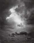 Photographs, Jerry Uelsmann (American, b. 1934). Untitled (Rowboat), 1995. Gelatin silver. 18-5/8 x 15 inches (47.3 x 38.1 cm). Initi...