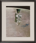 Autographs:Celebrities, Buzz Aldrin Signed Large Color CSM Photo in Framed Display.'...