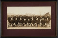 Football Collectibles:Photos, 1926 Pottsville Maroons Mini Panoramic Original Photograph....
