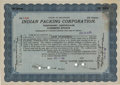 Football Collectibles:Others, 1919 Indian Packing Original Stock Certificate - Green Bay Packers Named After Company! ...
