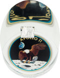Explorers:Space Exploration, Apollo 11 Flown Kapton Foil in a Limited Edition Lucite Display, #2 of 50....