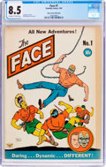 Golden Age (1938-1955):Superhero, The Face #1 Mile High Pedigree (Columbia, 1941) CGC VF+ 8.5 Off-white to white pages....