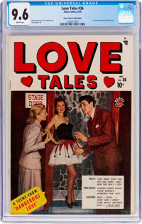Love Tales #36 Mile High Pedigree (Atlas, 1949) CGC NM+ 9.6 White pages