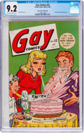 Golden Age (1938-1955):Humor, Gay Comics #22 Mile High Pedigree (Timely, 1945) CGC NM- 9.2Off-white to white pages....