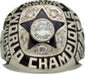 Football Collectibles:Others, 1971 Dallas Cowboys Super Bowl VI Championship Ring Presented to Punter Ron Widby.. ...
