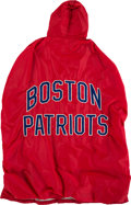 Football Collectibles:Uniforms, Mid 1960's Boston Patriots Game Worn Sideline Cape.. ...