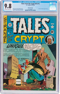 Tales From the Crypt #20 (#1) Gaines File Pedigree (EC, 1950) CGC NM/MT 9.8 Off-white to white pages