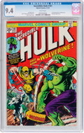 Bronze Age (1970-1979):Superhero, The Incredible Hulk #181 (Marvel, 1974) CGC NM 9.4 White pages....