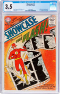 Silver Age (1956-1969):Superhero, Showcase #4 The Flash (DC, 1956) CGC VG- 3.5 Off-white pages....