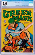 Golden Age (1938-1955):Superhero, Green Mask #1 (Fox Features Syndicate, 1940) CGC VF/NM 9.0 Off-white pages....