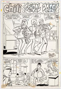 "Original Comic Art:Complete Story, Stan Goldberg Chili #16 Complete 5 Page Story ""School Daze""Original Art (Marvel, 1970).... (Total: 5 Original Art)"
