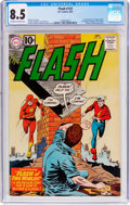 Silver Age (1956-1969):Superhero, The Flash #123 (DC, 1961) CGC VF+ 8.5 Off-white to white pages....
