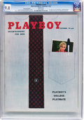 Magazines:Vintage, Playboy V5#9 (HMH Publishing, 1958) CGC NM/MT 9.8 White pages....