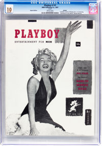 Playboy #1 Reprint (HMH Publishing, 2007) CGC GM-MT 10.0 White pages