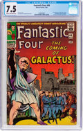Silver Age (1956-1969):Superhero, Fantastic Four #48 (Marvel, 1966) CGC VF- 7.5 Cream to off-whitepages....