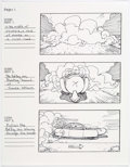 "Original Comic Art:Miscellaneous, Dan Fraga ""Foxtrot Uniform Charlie Kilo"" Video Storyboards OriginalArt Group of 9 (2005).... (Total: 9 Original Art)"