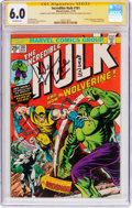 Bronze Age (1970-1979):Superhero, The Incredible Hulk #181 Signature Series (Marvel, 1974) CGC FN 6.0 Off-white pages....