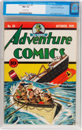 Golden Age (1938-1955):Superhero, Adventure Comics #43 Mile High Pedigree (DC, 1939) CGC NM+ 9.6 Off-white pages....