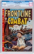 Golden Age (1938-1955):War, Frontline Combat #10 Gaines File Pedigree (EC, 1953) CGC NM/MT 9.8Off-white to white pages....
