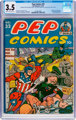 Pep Comics #32 (MLJ, 1942) CGC VG- 3.5 Cream to off-white pages