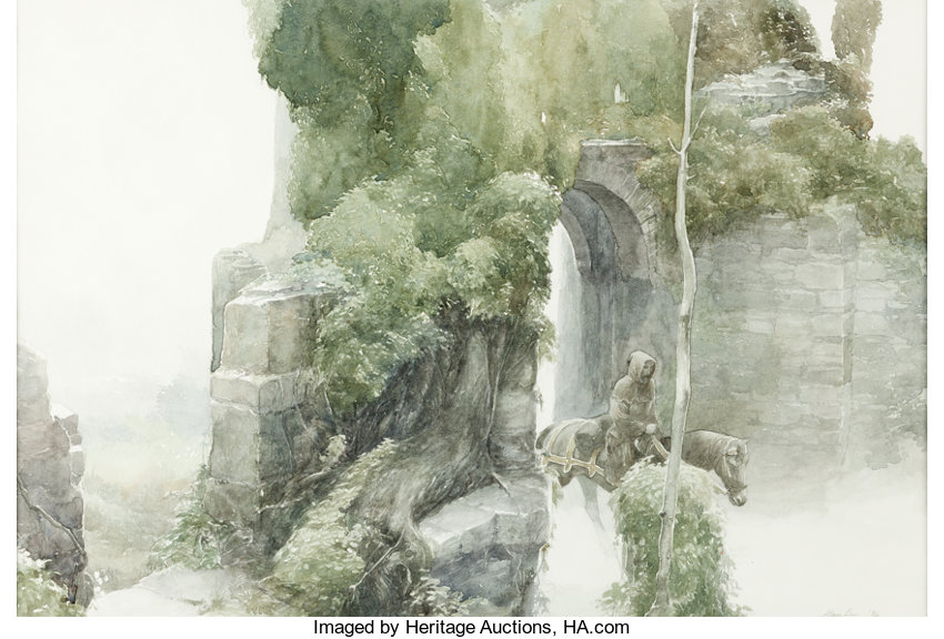 Alan Lee Lord Of The Rings Prints