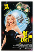 """Movie Posters:Science Fiction, Not of this Earth (Concorde/Trinity, 1988). One Sheet (27"""" X 41"""")SS. Science Fiction.. ..."""
